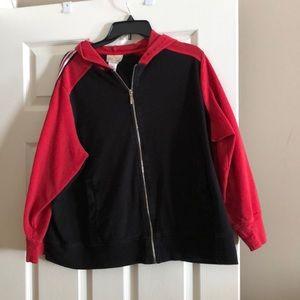 Studio Works two tone hoodie